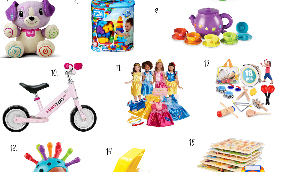 Gift Guide: For The Toddler (1-3 years old)